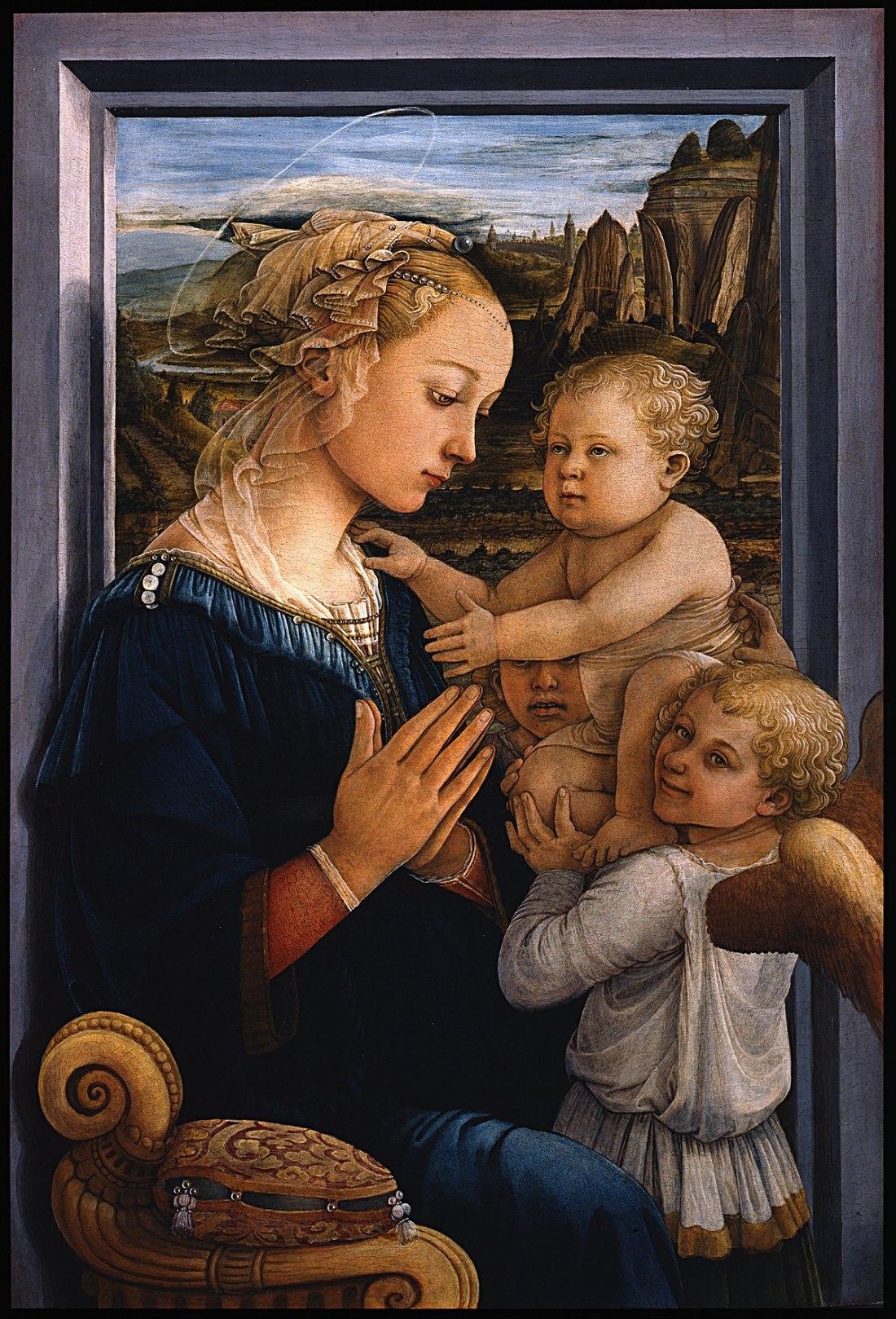 1200px-Filippo_Lippi_-_Madonna_col_Bambino_e_due_angeli_-_Google_Art_Project